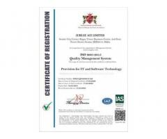 JubileeAce nun auch ISO 9001 zertifiziert