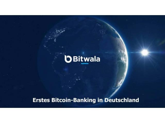 Erstes Bitcoin-Banking in Deutschland